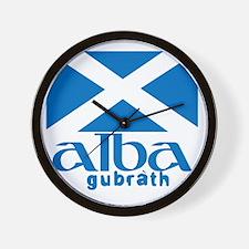 Long Live Alba! Wall Clock