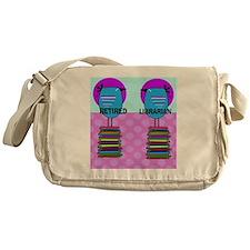 ff Ret Librarian Bird 2 Messenger Bag
