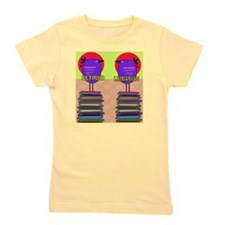 FF Ret Librarian bird 3 Girl's Tee