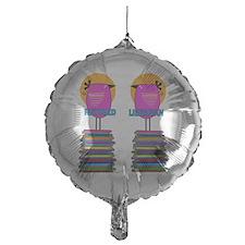 FF Ret Librarian Bird 4 Balloon