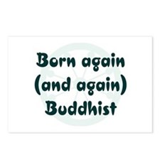 Born Again Buddhist Postcards (Package of 8)
