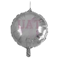 UAT initials, Pink Ribbon, Balloon