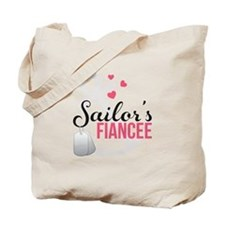 Sailor's Fiancee Tote Bag