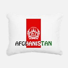 Afghanistan Rectangular Canvas Pillow