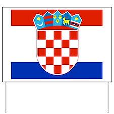 Croatia Yard Sign