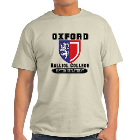 Oxford History Department Light T-Shirt