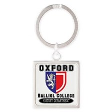 Oxford History Department Square Keychain
