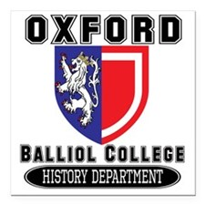 "Oxford History Departmen Square Car Magnet 3"" x 3"""