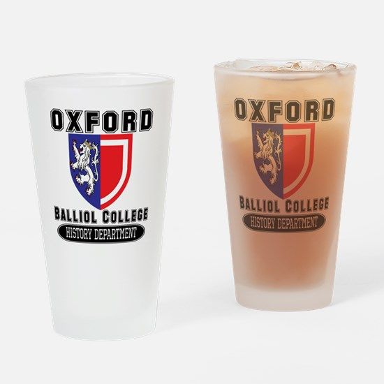 Oxford History Department Drinking Glass