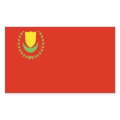 Kedah Rectangle Sticker