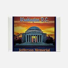 Jefferson Memorial Magnets