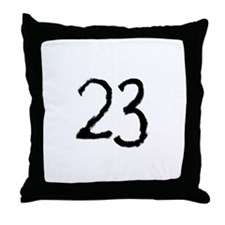 23 Throw Pillow