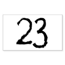 23 Rectangle Decal