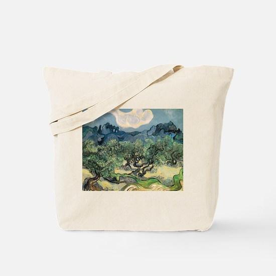 Olive Trees - Van Gogh - c1889 Tote Bag