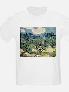 Olive Trees - Van Gogh - c1889 T-Shirt