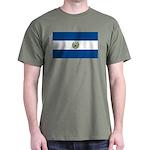 El Salvador Flag Dark T-Shirt