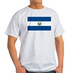 El Salvador Flag Light T-Shirt