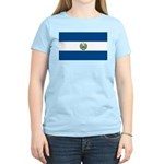 El Salvador Flag Women's Light T-Shirt