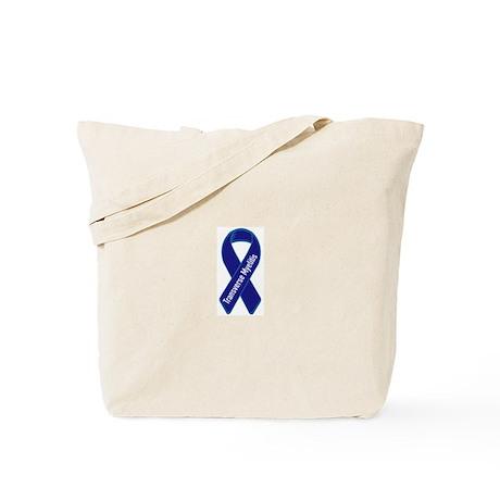 Transverse Myelitis Tote Bag