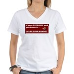 If your catholic..... Women's V-Neck T-Shirt