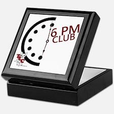 6 PM Club front Keepsake Box