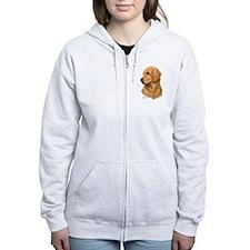 Golden Retriever Zip Hoodie
