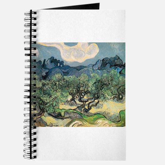Olive Trees - Van Gogh - c1889 Journal