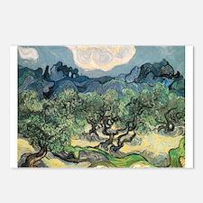 Olive Trees - Van Gogh - c1889 Postcards (Package