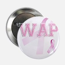 "WAP initials, Pink Ribbon, 2.25"" Button"