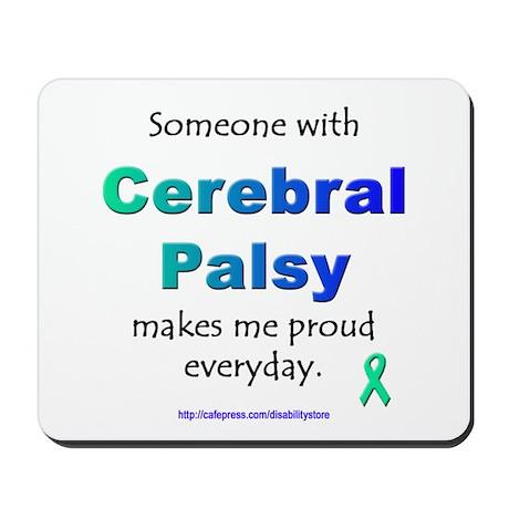 """""""Cerebral Palsy Pride"""" Mousepad"""