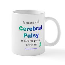 """""""Cerebral Palsy Pride"""" Small Mug"""