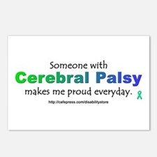 """Cerebral Palsy Pride"" Postcards (Package of 8)"