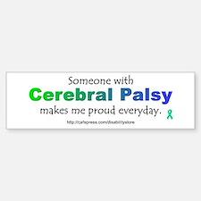 """""""Cerebral Palsy Pride"""" Bumper Bumper Bumper Sticker"""