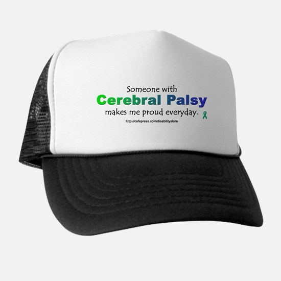 """Cerebral Palsy Pride"" Trucker Hat"