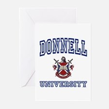 DONNELL University Greeting Cards (Pk of 10)
