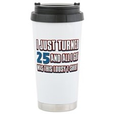 25 yr Travel Mug