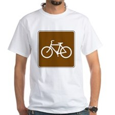 Bike Trail Sign Shirt