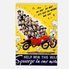 HELP WIN THE WAR Postcards (Package of 8)