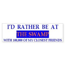 Florida University The Swamp Bumper Bumper Sticker