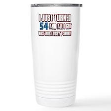 54 yr s Travel Coffee Mug