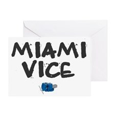 MIAMI VICE Greeting Card