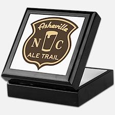 Asheville Ale Trail Logo Keepsake Box