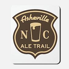 Asheville Ale Trail Logo Mousepad