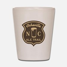 Asheville Ale Trail Logo Shot Glass