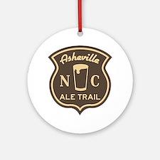 Asheville Ale Trail Logo Round Ornament