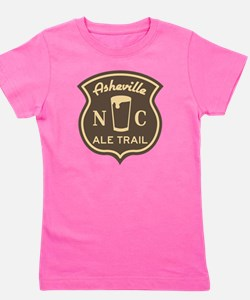 Asheville Ale Trail Logo Girl's Tee