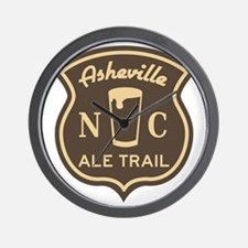 Asheville Ale Trail Logo Wall Clock
