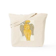 Cute Yorkie art Tote Bag