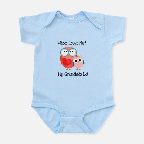 Owl Grandkids Infant Bodysuit