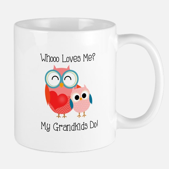Owl Grandkids Mug